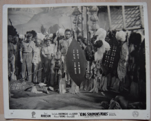 King Solomon's Mines, Gaumont British Pictures Still, Paul Robeson, '37 (e)